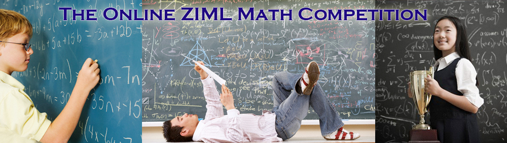 Math Is Fun! The Online ZIML Math Competition