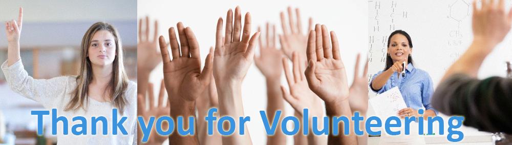 Thank You For Volunteering - ZEFR